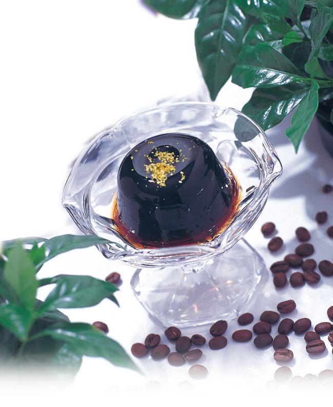 金箔付き天然ミネラルコーヒーゼリー(2個・箱入)ギフト