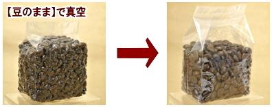 真空袋の膨らみ具合画像