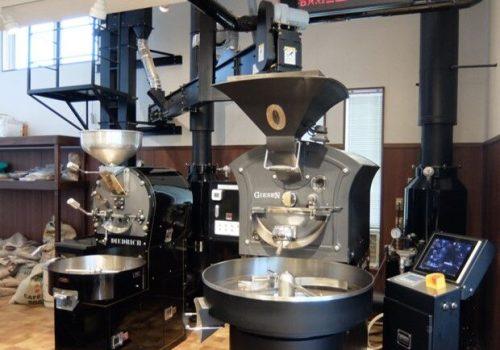 金沢コーヒー豆焙煎機